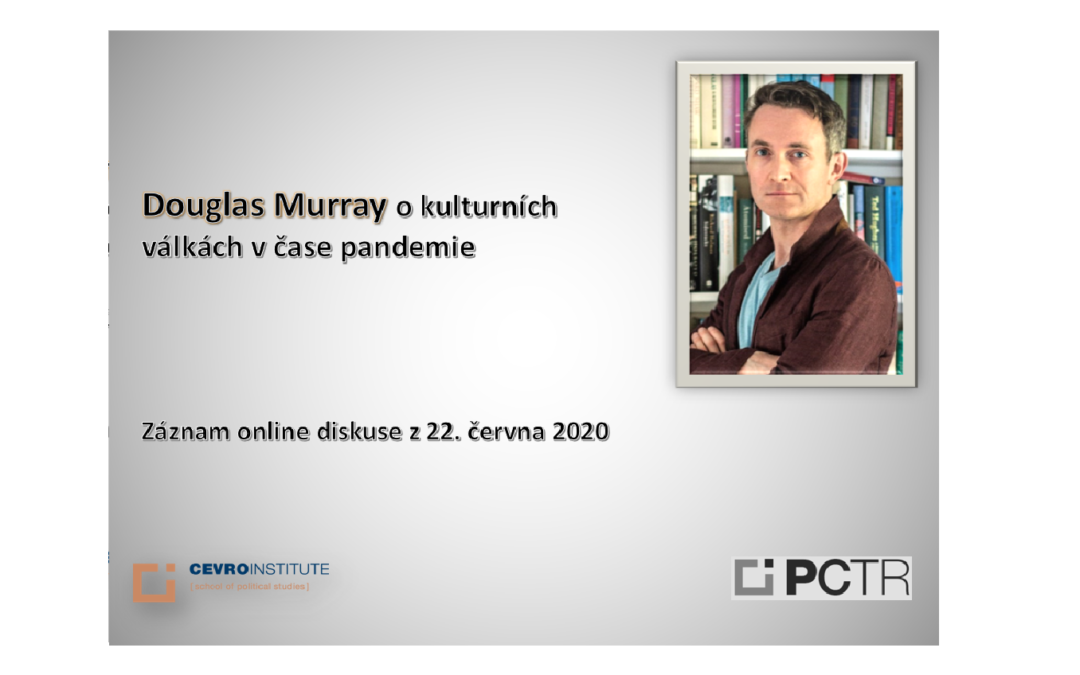 Online discussion with Douglas Murray