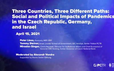 Three Countries, Three Different Paths: The Social and Political Impact of the Pandemic on the Czech Republic, Germany and Israel
