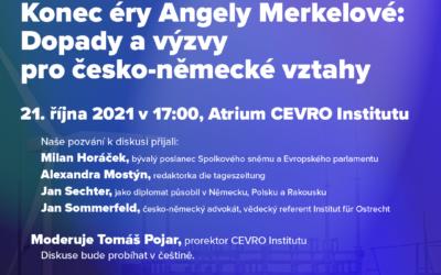 Konec éry Angely Merkelové: dopady a výzvy pro česko-německé vztahy
